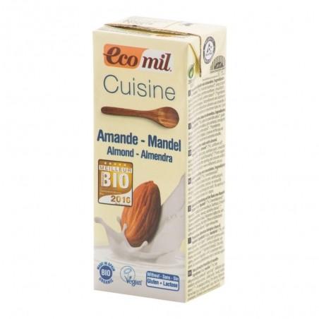 Mandľová alternatíva smotany 200 ml BIO ECOMIL