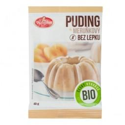 Puding marhuľový s kúskami ovocia bezlepkový 40 g BIO Amylon