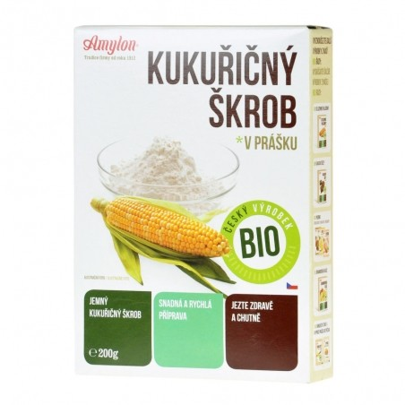 Škrob kukuričný 200 g BIO Amylon