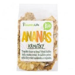 Ananás krúžky sušené 100 g BIO