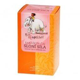 Čaj Raráškov slonia sila 40 g BIO Sonnentor