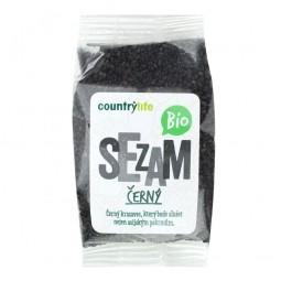 Sezam čierny nelúpaný 100 g BIO