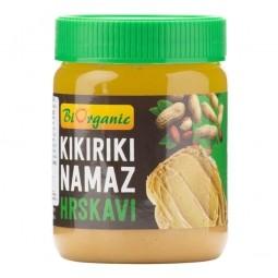 Krém arašidový s kúskami 340 g BIO BIORGANIC