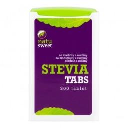 Sladidlo zo stévie 300 tabliet v dávkovači 18 g NATUSWEET