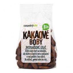 Akcia spotreba 02.09.2021 Kakaové bôby nepražené celé 100 g BIO COUNTRY LIFE