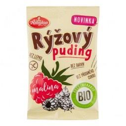 Puding ryžový malinový bezlepkový 40 g BIO Amylon