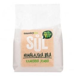 Soľ himalájska biela jemná 500 g COUNTRY LIFE