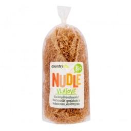 Akcia spotreba 31.08.2021 Cestoviny rezance pšeničné vlasové 200 g BIO COUNTRY LIFE