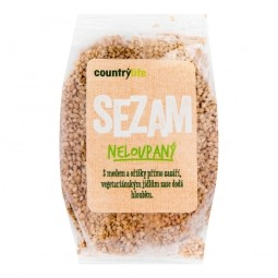 Sezam nelúpaný 100 g COUNTRY LIFE