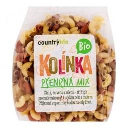Cestoviny kolienka pšeničné mix 400 g BIO COUNTRY LIFE