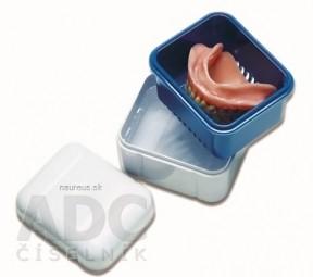 CURADENT BDC 111 nádobka na protézu, orto aparát mentolová 1x1 ks