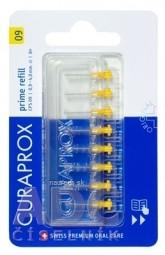 CURAPROX CPS 09 prime refill žltá medzizubné kefky bez držiaka 1x8 ks