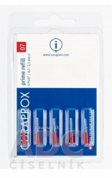 CURAPROX CPS 07 prime refill červená
