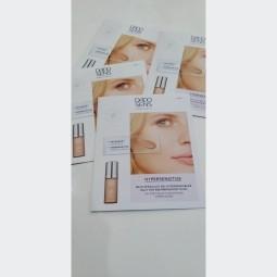 VZORKA Hypersenzitívny Make up HAZEL pre citlivú a mierne začervenanú pokožku 1x2ml