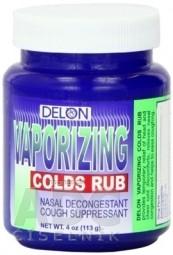 DELON VAPORIZING COLDS RUB