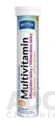 Biotter Multivitamín + minerálne látky tbl eff s príchuťou pomaranča 1x20 ks