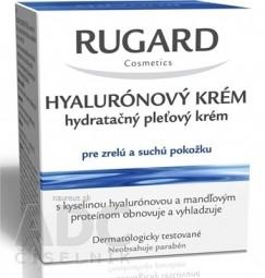 RUGARD HYALURÓNOVÝ KRÉM hydratačný pleťový krém pre zrelú a suchú pokožku, 1x50 ml