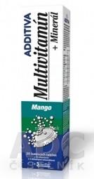 ADDITIVA MULTIVITAMÍN + Minerál, Mango tbl eff 1x20 ks