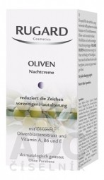 RUGARD OLIVOVÝ nočný krém 1x50 ml