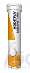ADDITIVA MULTIVITAMÍN Orange tbl eff 1x20 ks