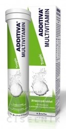 ADDITIVA MULTIVITAMÍN Tropic tbl eff 1x20 ks