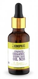 Dr.Konopka´S - Bylinný olej na vlasy  pre posilnenie vlasov č. 28, 30 ml