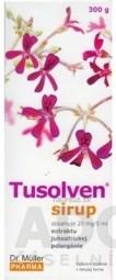Dr. Müller TUSOLVEN sirup s extraktom juhoafrickej pelargónie a vitamínom C, 1x300 g