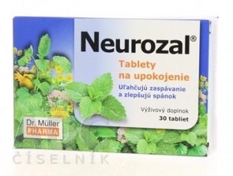 Dr. Müller NEUROZAL  tablety na upokojenie