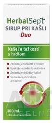 HerbalSept SIRUP PRI KAŠLI Duo 1x100 ml