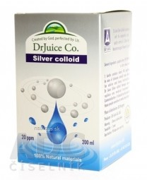 DrJuice Silver colloid