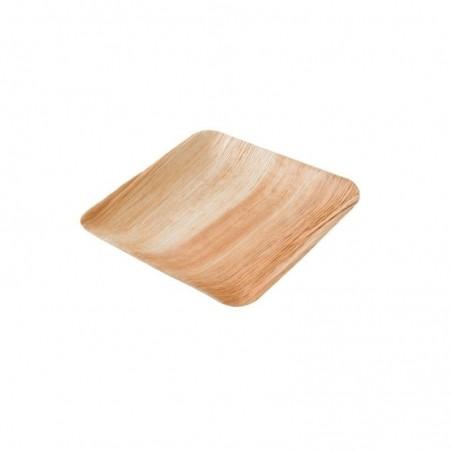 Palmový tanier štvorcový 23x23 cm