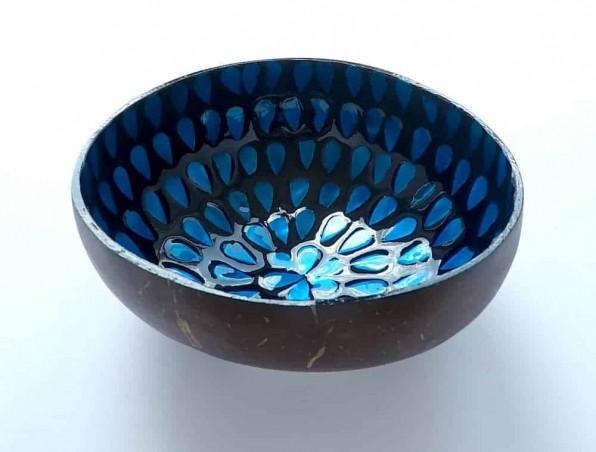 EatGreen Kokosová miska SLZA modrá 13 cm