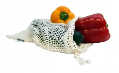 Vrecko sieťové na ovocie a zeleninu malé