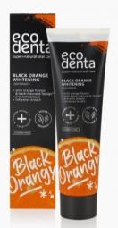 Čierna bieliaca zubná pasta s pomarančovou príchuťou