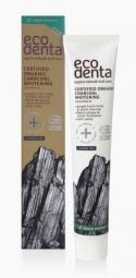 Organická bieliaca zubná pasta s čiernym uhlím, aloe vera a mätou 75 ml