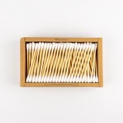 Hygienické tyčinky do uší - bambus a bavlna