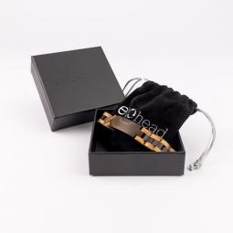 Náramok na ruku - Dark Brown Ebony Line s krabičkou