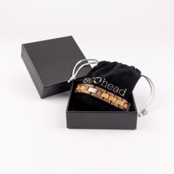 Náramok na ruku - Walnut Oak s krabičkou