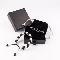 Náramok - Black and White s krabičkou