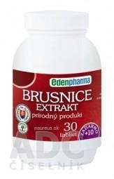 EDENPharma BRUSNICE extrakt tbl 30+10 zadarmo (40 ks)