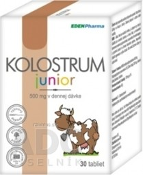 EDENPharma KOLOSTRUM JUNIOR tbl (500 mg) 1x30 ks