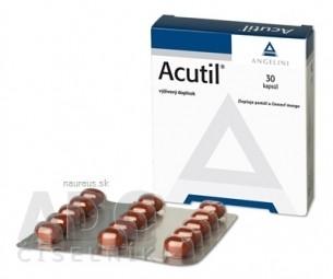 Akcia spotreba 09/2021 ACUTIL cps 1x30 ks