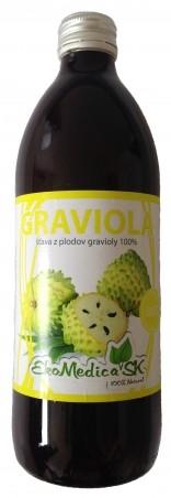 Šťava Graviola 100% - 500 ml