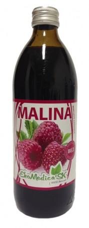 Šťava Malina 100% - 500 ml