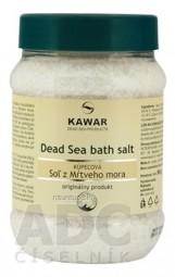 KAWAR SOĽ Z MŔTVEHO MORA kúpeľová soľ 1x500 g