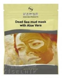 KAWAR BAHENNÁ PLEŤOVÁ MASKA s minerálmi z Mŕtveho mora a Aloe vera 1x75 g