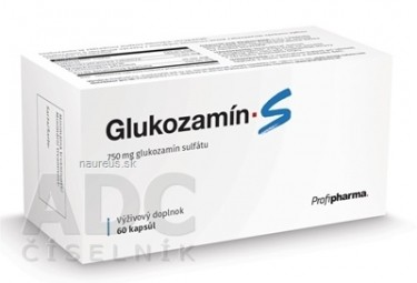 Profipharma Glukozamín S cps 1x60 ks