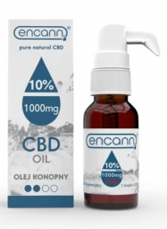 CBD konopný olej 10% full spectrum