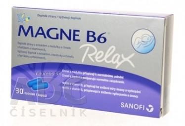 MAGNE B6 RELAX cps (50 mg + 0,7 mg) 1x30 ks