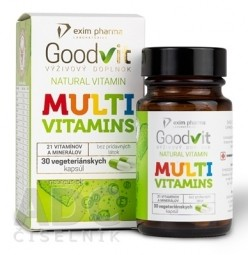 Goodvit Natural MULTIVITAMINS cps 1x30 ks
